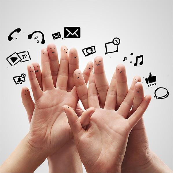 Illustration des réseaux sociaux